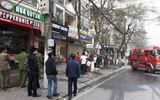Cháy quán ăn 4 tầng tại Hà Nội, người dân bỏ chạy thoát chết
