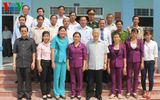 Tổng Bí thư thị sát tình hình hạn, xâm nhập mặn tại Tiền Giang