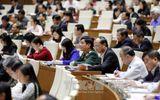 Đại biểu Quốc hội nghe báo cáo tổng kết công tác nhiệm kỳ