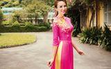 Nét yêu kiều của Hoa hậu du lịch Ngọc Diễm trong tà áo dài