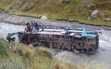 Tai nạn xe buýt tại Peru, 23 người thiệt mạng