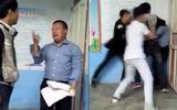 Không nộp bài, học sinh thản nhiên đánh hội đồng thầy giáo ngay trong lớp