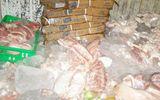 Chế biến cả tấn thịt gà, thịt heo, cá hôi thối cung cấp cho quán ăn