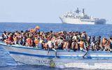 15 người mất tích trong vụ tàu di cư bị chìm trên biển Địa Trung Hải