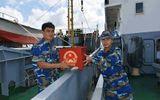Tàu Bộ Tư lệnh vùng 2 ra Biển Đông tổ chức bầu cử