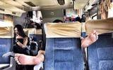 Dân mạng bức xúc với hành động vô duyên của hành khách trên xe