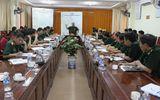 Phó tổng Tham mưu trưởng QĐND kiểm tra bảo vệ bầu cử biên giới miền Trung