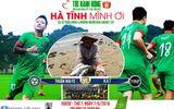 Tuấn Hưng đấu bóng ở Hà Tĩnh gây quỹ ủng hộ ngư dân