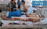 Nghệ An: Xe tải tông xe khách, nhiều người nhập viện nguy kịch