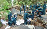 Sạt lở đất trên diện rộng tại tỉnh Cà Mau