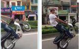 Nam thanh niên đội mũ lưỡi trai, lái xe bốc đầu gây phẫn nộ cộng đồng mạng