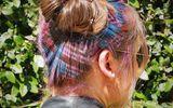 """Giới trẻ tiếp tục """"sục sôi"""" với trào lưu nhuộm tóc thành các hình nhiều màu sắc"""
