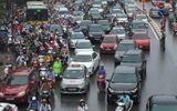 Hà Nội: Tăng cường lực lượng chống ùn tắc kéo dài sau trận mưa lịch sử