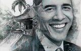 Dân mạng ngưỡng mộ chàng trai trẻ thức 2 đêm vẽ tranh tặng Tổng thống Obama