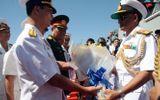 Hai tàu chiến Ấn Độ lần đầu tiên cập Cảng Cam Ranh