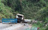 Vụ nổ xe 8 người chết: Tạm dừng giao dịch tại cửa khẩu Cha Lo