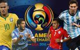 Danh sách 16 đội tham dự Copa America 2016