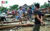Yên Bái: Mưa lốc khiến hàng trăm ngôi nhà tốc mái