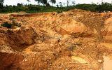 Sập hầm vàng, 2 người chết, 2 người bị thương