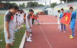 U19 Việt Nam đến Hà Nội viếng Tướng Giáp