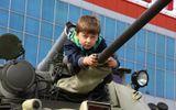 """Ngắm """"rùa thép"""" Nga tại triển lãm vũ khí Omsk"""
