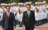 Thủ tướng Chính phủ Nguyễn Tấn Dũng đón tiếp Thủ tướng Trung Quốc