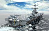 """Choáng váng với mẫu tàu sân bay """"siêu hạng"""" của Mỹ"""