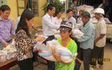 Công ty dược Nam Hà đến với đồng bào lũ lụt miền Trung