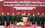 Đoàn đại biểu cấp cao BĐBP Việt Nam đến thăm và làm việc tại Lào