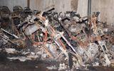 Hỏa hoạn trong đêm, 20 xe máy bị thiêu rụi