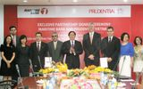 Prudential và Maritime Bank hợp tác kinh doanh bảo hiểm qua ngân hàng