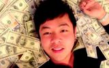 Cư dân mạng phẫn nộ vì bức ảnh ca sĩ Quang Lê khoe nhiều tiền đô