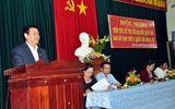 Trưởng Ban Kinh tế Trung ương tiếp xúc cử tri tỉnh Bình Định