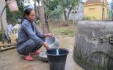 Nỗi khổ của người dân quanh năm phải dùng nguồn nước nhiễm đá vôi