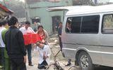 Clip: Đưa thi thể bé gái bị thiêu trong vụ cháy tại KĐT An Hưng về quê
