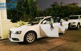 Xế sang hiếm hoi tại đám cưới hoa hậu Ngô Phương Lan