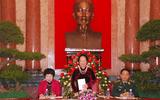 Phó Chủ tịch nước Nguyễn Thị Doan gặp mặt người cao tuổi tiêu biểu tham gia bảo vệ chủ quyền