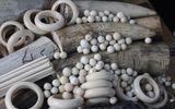Cận cảnh lô hàng ngà voi được nhập khẩu qua đường hàng không