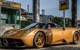 Bọc vàng siêu xe Pagani Huayra