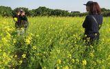 Hà Nội: Kiếm gần 10 triệu đồng/ngày nhờ dịch vụ... chụp ảnh vườn cải