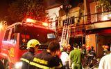 Cháy lớn tại cửa hàng bọc yên xe, 5 người tử vong