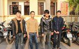 Bắt 4 đối tượng gây ra 24 vụ trộm cắp