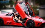 Quán quân người đẹp siêu xe thả dáng bên Lamborghini tại Tuần Châu