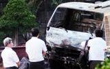 Xe cầu bốc cháy, một tài xế chết thảm