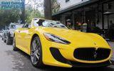 """Ảnh hiếm hoi về xế sang """"đinh ba"""" Maserati MC Stradale tại Hà Nội"""