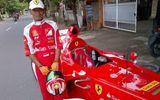 Siêu xe đua Ferrari F1 được tái hiện hoàn hảo bởi một ngư dân