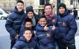 U19 Việt Nam mặc áo sai quy cách Quốc kỳ