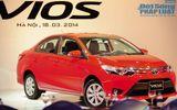 Cận cảnh chi tiết Toyota Vios 2014
