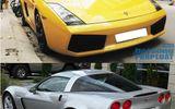Màn tỉ thí tốc độ của Lamborghini Gallardo và Chevrolet Corvette