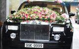 Rolls-Royce Phantom biển độc làm xe hoa trên phố Hà Nội